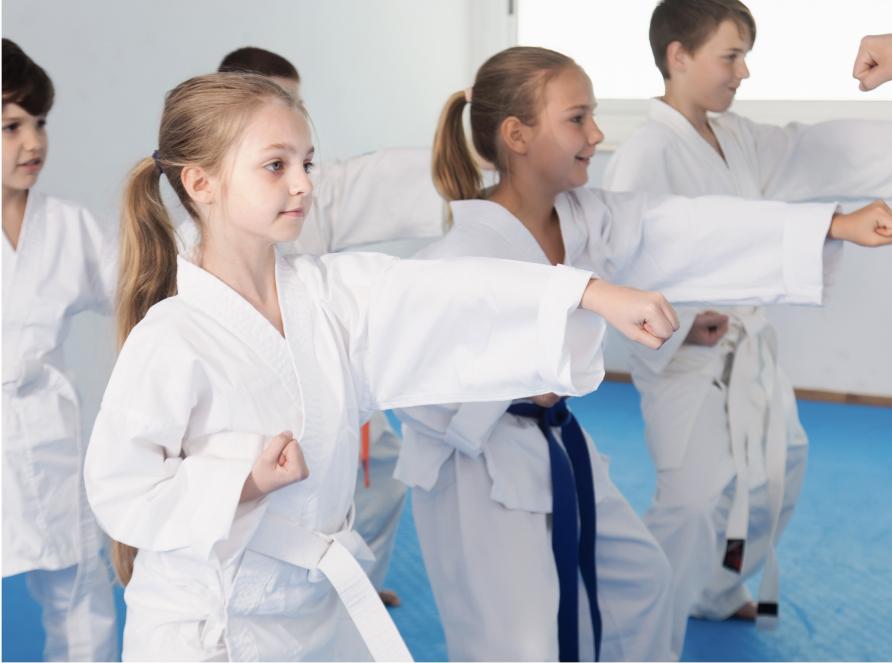powersports kids martial arts class