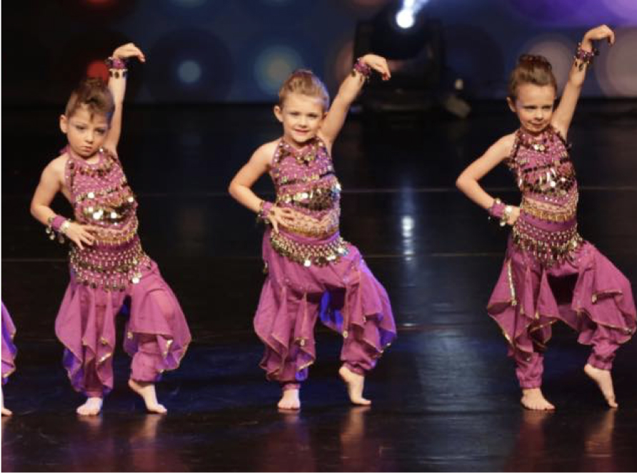 young dancers performing a routine
